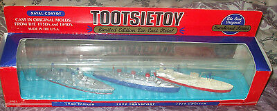 1996 TootsieToy Naval Convoy Cast in Original Molds from 1930's-40's LE of 14,00