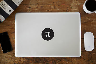 "Pi Vinyl Decal Sticker for Apple MacBook Air/Pro Laptop 11"" 12"" 13"" 15"""