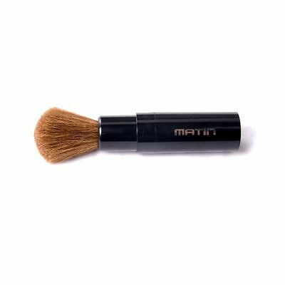 Matin Retractable Goat Hair Dust Brush Small Lipstick Type for Camera Screen