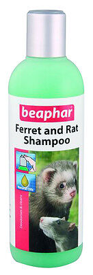 BEAPHAR SMALL ANIMAL SHAMPOO (250ml) rabbit guinea pig ferret rat clean hygiene