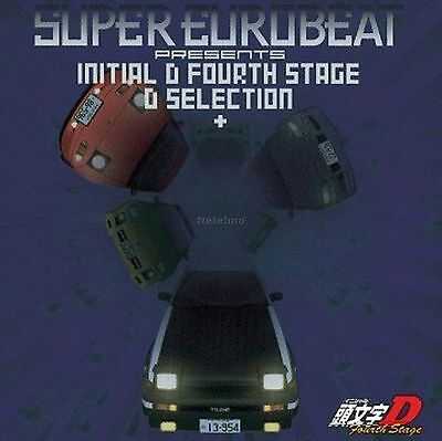 New 0373 Super Eurobeat Presents Initial D Forth 4th Stage CD Music Soundtrack