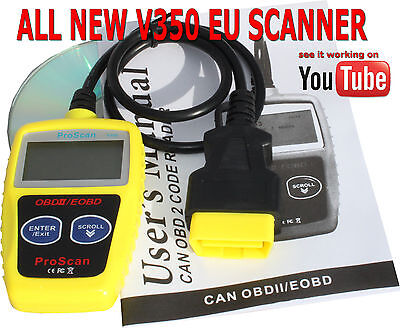 CAR AUTO FAULT Diagnostic Scanner Engine Code Reader Tester OBD2 OBDII CAN  BUS