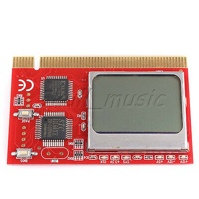 New LCD PCI PC Computer Motherboard Analyzer Tester Diagnostic Card