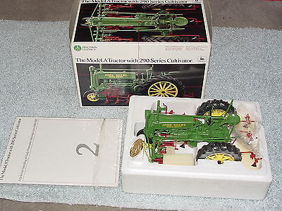 Ertl 1/16 John Deere Model A Precision #2 Tractor With 290 Series Cultivator
