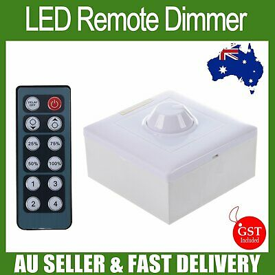 192W 8A Remote Into walls Dimmer LED Switches Strip Light controller 3528 5050