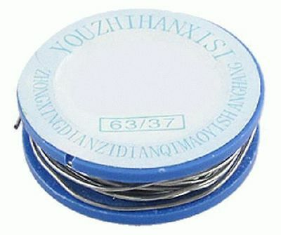 New 1.8M 0.8mm Diameter Tin Lead Solder Soldering Wire Reel With Flux 2%