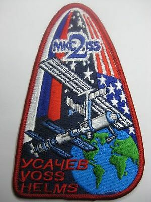 Nasa Aufnäher Patch Iss 2 Mission Raumfahrt International Space Station