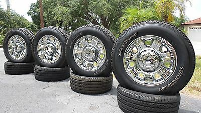 NEW 20 CHROME 2013 Ford F250 F-250 F350 SUPER DUTY Factory WHEELS RIMS TIRES
