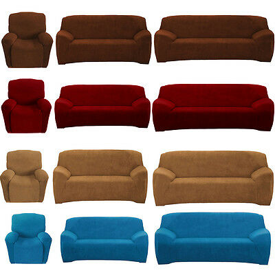 4-way Super Fit Stretch Couch Slip Cover 1 2 3 Seater Protector Sofa Slipcover