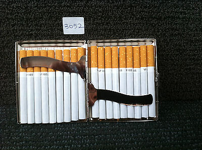 Stainless Steel Cigarette Case ( Hold 18 Cigarettes ) Item No 3052
