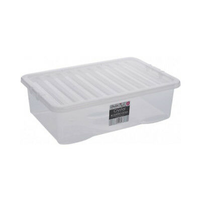 Kids Large Plastic Childrens Toy Storage Boxes 32Ltr