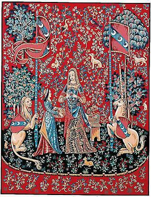 Margot de Paris Tapestry/Needlepoint Canvas – Lady and the Unicorn - Smell