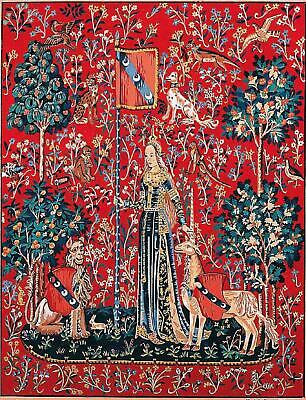 Margot de Paris Tapestry/Needlepoint Canvas – Lady and the Unicorn/Touch
