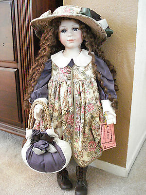 "Show-Stoppers ""Chelsea"" Porcelain Doll from Florence Maranuk Collection"