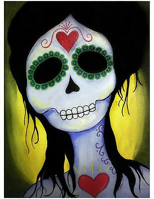 Day of the Dead - Dia de los Muertos Isabella Sugar Skull Print