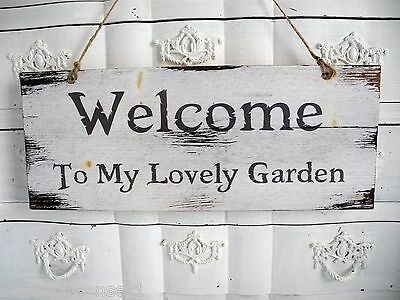 b ware schrift t rschild home sweet home welcome schild holzschild holz shabby. Black Bedroom Furniture Sets. Home Design Ideas