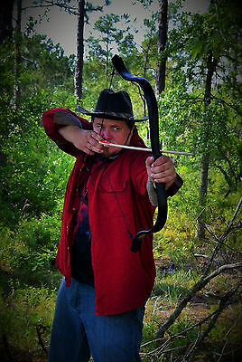 Black Tactical Recurve Bow (80lbs)