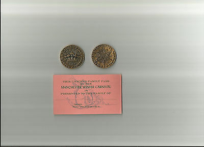 Manchester New Hampshire Winter Carnival 1967 Coin / Medal