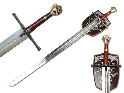 """Chronicles of Narnia Prince 43"""" Sword With Plaque Decorative Collectible"""