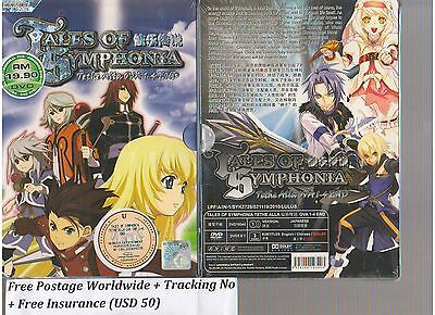 DVD TALES OF SYMPHONIA TETHE ALLA OVA 1-4END + Free1 anime DVD
