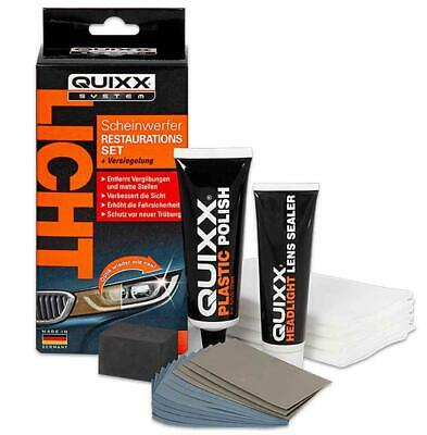 Quixx Scheinwerfer Restaurations Kit Aufbereitung Reparatur Set Headlight