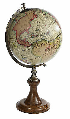 AUTHENTIC MODELS Mercator 1541 World Globe w/Classic Stand Antique Reproduction