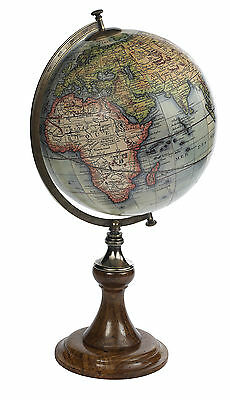 AUTHENTIC MODELS Vaugondy 1745 World Globe w/Classic Stand Antique Reproduction