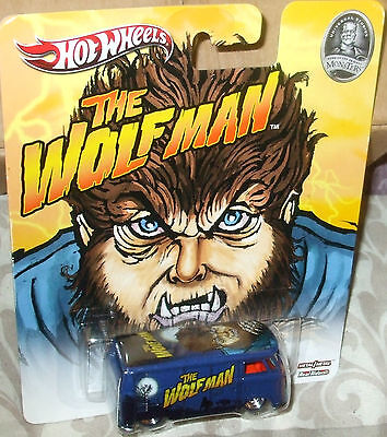 """2013 Hot Wheels Universal Studio Monsters """"The Wolfman"""" VW T1 Panel Bus w/RR's"""