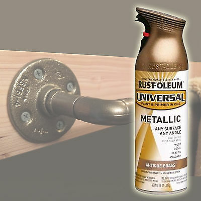 RUSTOLEUM Rust-Oleum Metallic Spray Paint Antique Brass Aerosol Can 312g 260728