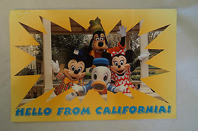 Hello from California - U.S.A. - Collectable -Postcard.