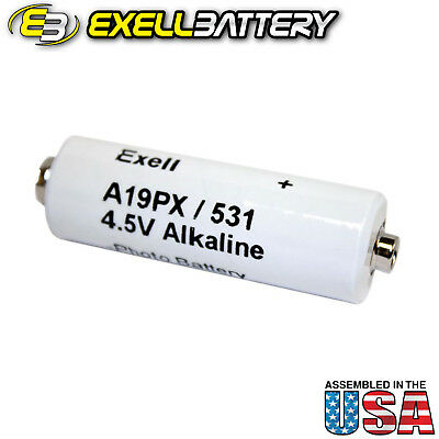 Exell Battery A19PX 4.5V Alkaline V19PX 531 RPX19 A19PX EPX19