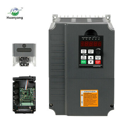 Vfd Variable Frequency Drive 220V 7.5Kw 10Hp 34A Inverter