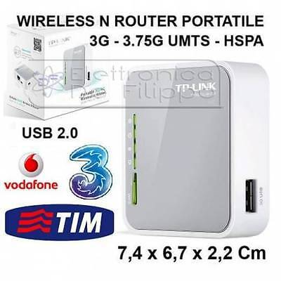 ROUTER 3G/4G PORTATILE WIRELESS N 150Mbps