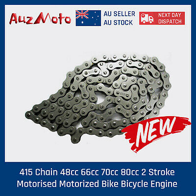 415 Chain 48cc 66cc 70cc 80cc 2 Stroke Motorised Motorized Bike Bicycle Engine