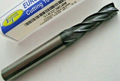 5mm SOLID CARBIDE 4 FLUTED TiALN COATED END MILL EUROPA TOOL 3103230500  #B23