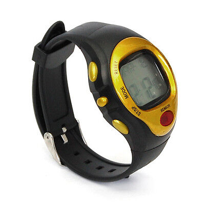 Sport Pulse Heart Rate Monitor Calories Counter Fitness Infrared Wrist Watch New
