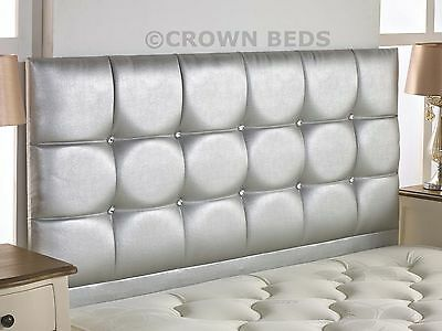 REGAL FAUX LEATHER HEADBOARD IN 2ft6,3ft,4ft,4ft6,5ft,6ft, 26'' HIGH BRAND NEW!!