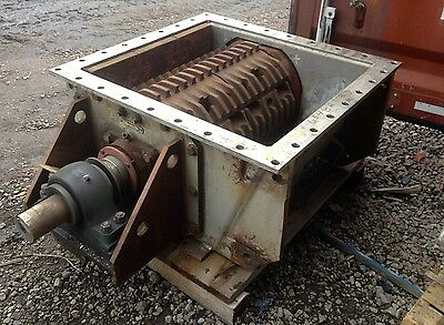 """EXCEN 30"""" Stainless Steel Single Roll Crusher"""