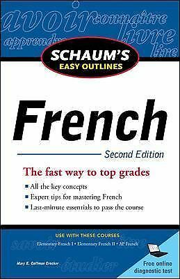 Schaum's Easy Outline of French, Second Edition (Schaum's Easy Outlines)