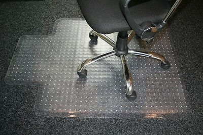 Carpet Protector Home Office Chair Spike Mat Non Slip Clear Frosted PVC 910X1220