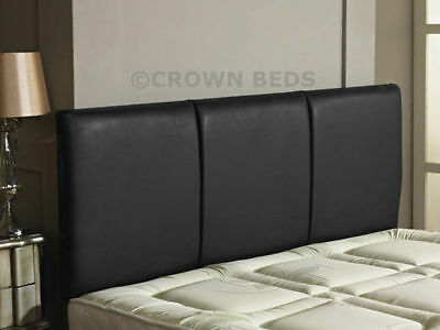 QUALITY FAUX LEATHER ALTON HEADBOARD IN 2ft6,3ft,4ft,4ft6,5ft,6ft NEW!!!!!