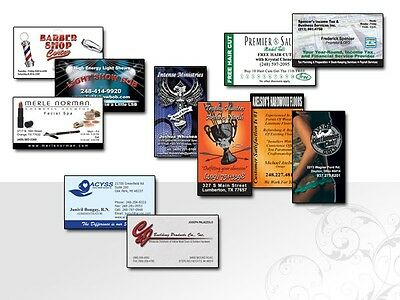 1000 Full Color Business Cards - 16 pt Stock with UV $30.00 FREE SHIPPPING