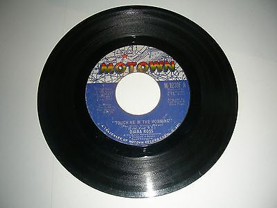"""Diana Ross - Touch Me In The Morning  45  7"""" Vinyl  Motown  VG 1973"""