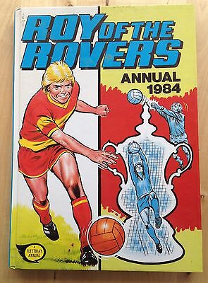 VINTAGE ROY OF THE ROVERS ANNUAL 1984 - hardback