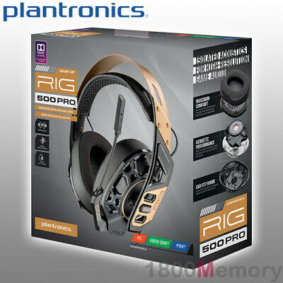 PLANTRONICS RIG 800LX Wireless Gaming Headset Over Ear 2 4