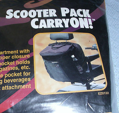Scooter Pack CarryOn ~ New in OEM Packing ~ Lightweight ~ Durable