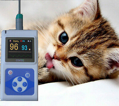 Vet pulse oximeter,blood oxygen saturation,SPO2 monitor,pulse rate CMS60D-USA