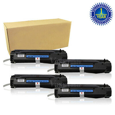 4 PK Q2613A 13A Black non-oem Toner Cartridge for hp LaserJet 1300n 1300xi