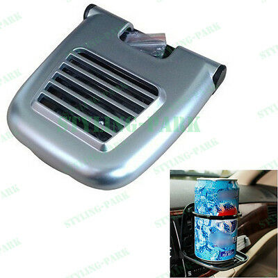 Truck SUV Car Fold Foldable Drink Bracket Stand Air Vent Beverage Cup Holder Pad