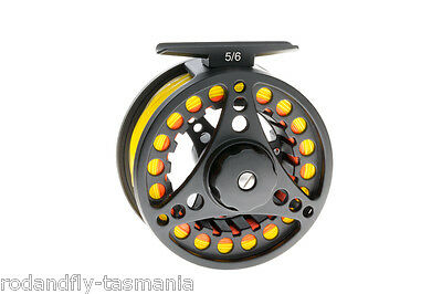 Fly Fishing Reel 5/6 Fully Loaded- Backing,Fly line,Leader from Aussie Guide